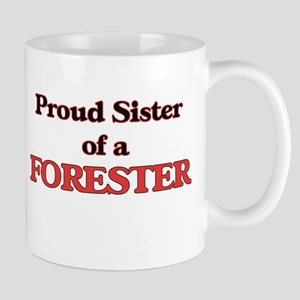 Proud Sister of a Forester Mugs