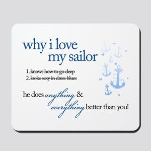 Why I Love My Sailor Mousepad