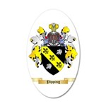 Pipping 35x21 Oval Wall Decal