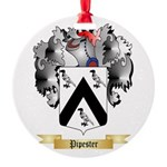 Pipester Round Ornament