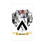 Pipester Sticker (Rectangle 10 pk)