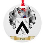 Piper Round Ornament