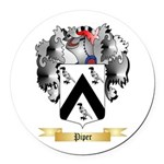 Piper Round Car Magnet