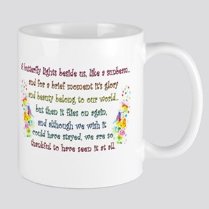 Butterfly Quote Mug