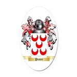 Pinter Oval Car Magnet