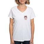 Pintado Women's V-Neck T-Shirt