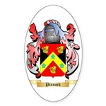 Pinnock Sticker (Oval 50 pk)