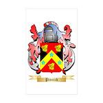 Pinnick Sticker (Rectangle 50 pk)