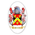 Pinnick Sticker (Oval 10 pk)