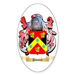 Pinnick Sticker (Oval 50 pk)
