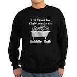 Christmas Bubble Bath Sweatshirt (dark)