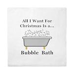Christmas Bubble Bath Queen Duvet