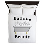 Bathing Beauty Queen Duvet