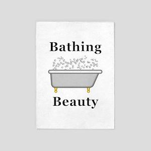 Bathing Beauty 5'x7'Area Rug