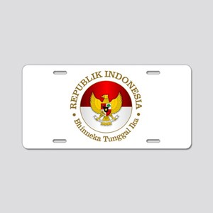 Indonesia (rd) Aluminum License Plate