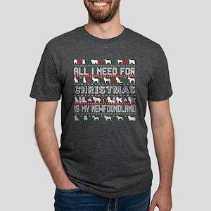 All I Need For Christmas Is My Newfoundlan T-Shirt