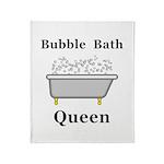 Bubble Bath Queen Throw Blanket