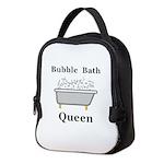 Bubble Bath Queen Neoprene Lunch Bag