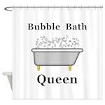 Bubble Bath Queen Shower Curtain