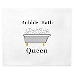 Bubble Bath Queen King Duvet