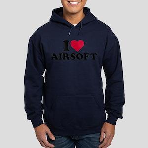 I love Airsoft Hoodie (dark)