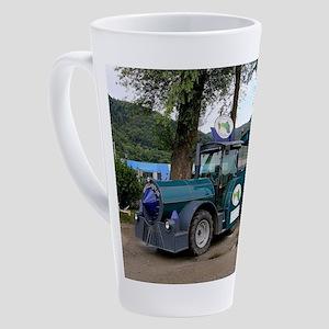 Hieronymus shuttle train, Durnstei 17 oz Latte Mug