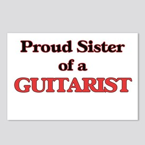 Proud Sister of a Guitari Postcards (Package of 8)