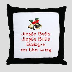 Christmas Baby Throw Pillow
