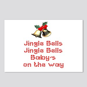 Christmas Baby Postcards (Package of 8)