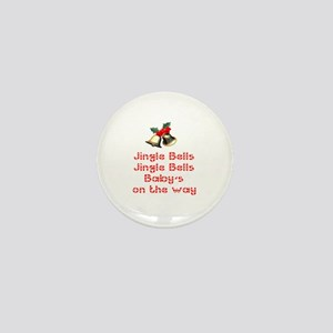 Christmas Baby Mini Button