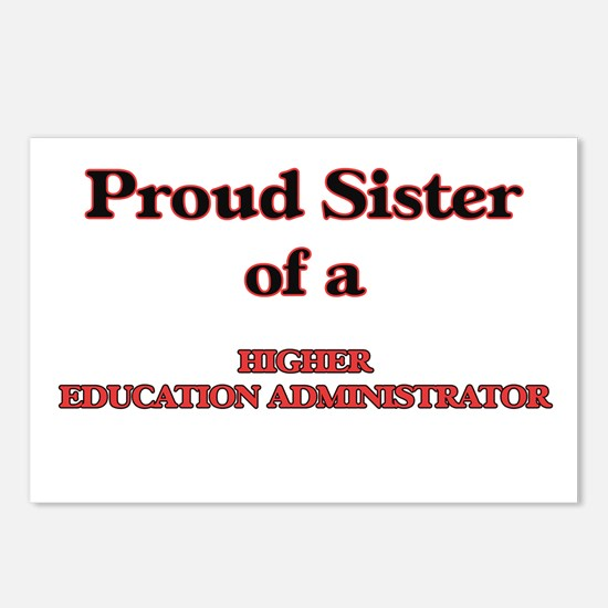 Proud Sister of a Higher Postcards (Package of 8)
