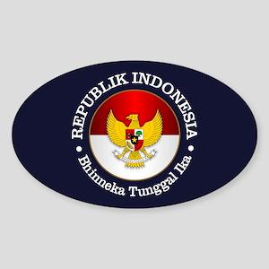 Indonesia (rd) Sticker