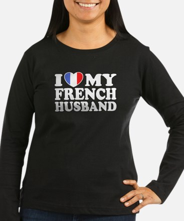 I Love My French husband T-Shirt