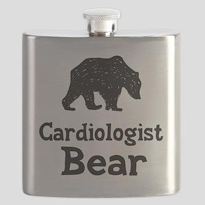 Cardiologist Bear Flask