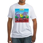 T-Rex Racing Fitted T-Shirt