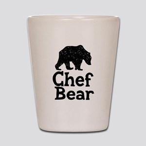 Chef Bear Shot Glass