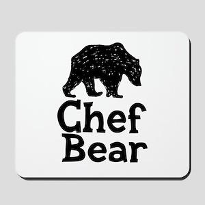 Chef Bear Mousepad