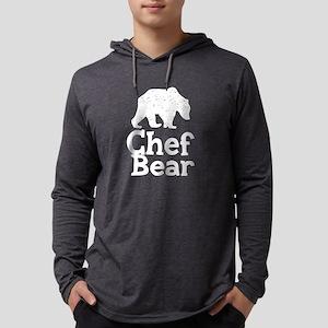 Chef Bear Mens Hooded Shirt