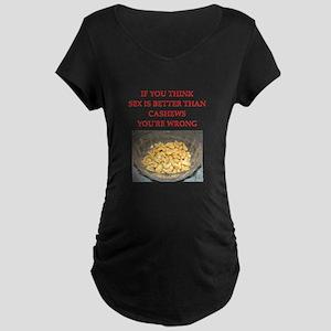 cashews Maternity T-Shirt