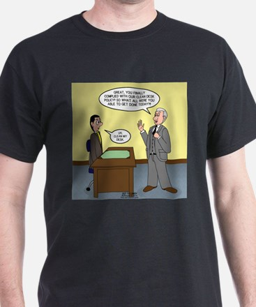 Clean Desk Policy T-Shirt
