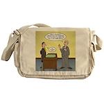 Clean Desk Policy Messenger Bag