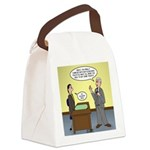 Clean Desk Policy Canvas Lunch Bag