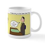 Clean Desk Policy Mug