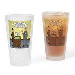 Clean Desk Policy Drinking Glass