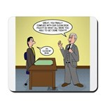 Clean Desk Policy Mousepad