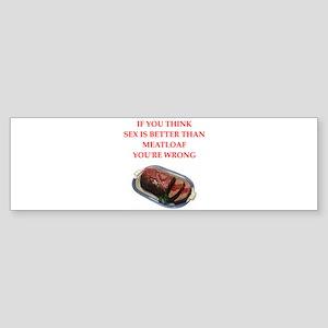 food joke Bumper Sticker