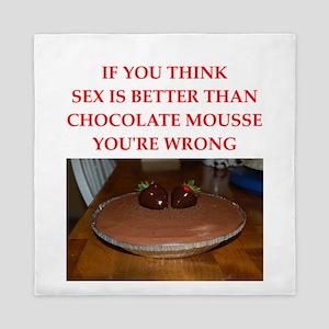 chocolate mousse Queen Duvet