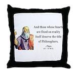 Plato 8 Throw Pillow