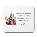 Plato 8 Mousepad
