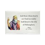 Plato 8 Rectangle Magnet (100 pack)